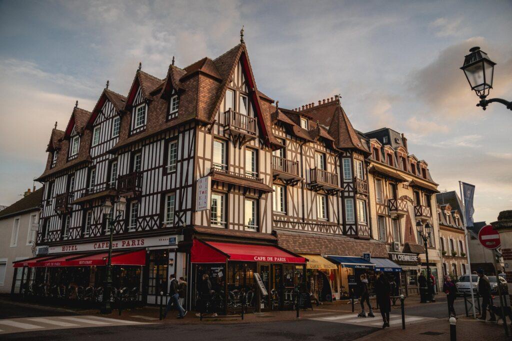 Maison typique de Normandie