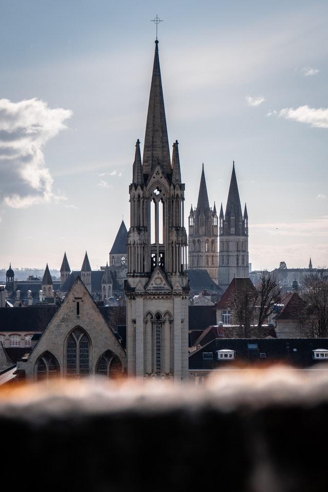 Caen clocher